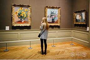 外国油画展览馆